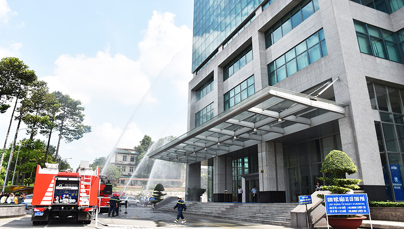Fire-drill at Sonadezi Building on November 8th 2019